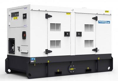 Дизельный генератор Power Link GMS12PX в кожухе