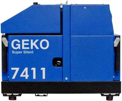Бензиновый генератор Geko 7411 ED-AA/HHBA SS