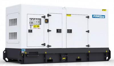 Дизельный генератор Power Link GMS100C в кожухе
