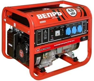 Бензиновый генератор Вепрь АБП 4,2-230 ВФ-БСГ с АВР