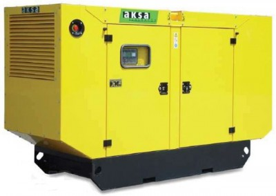 Дизельный генератор Aksa AC-110 в кожухе с АВР