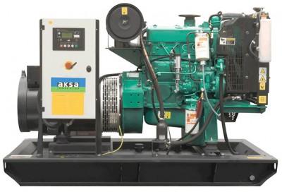 Дизельный генератор Aksa AC-55