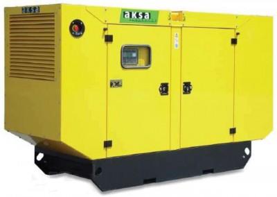 Дизельный генератор Aksa AC-66 в кожухе с АВР