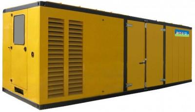 Дизельный генератор Aksa AC-1100K в кожухе