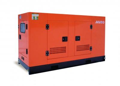 Дизельный генератор MVAE АД-25-230-Р в кожухе