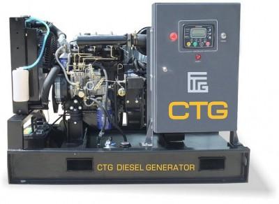 Дизельный генератор CTG AD-13YA с АВР