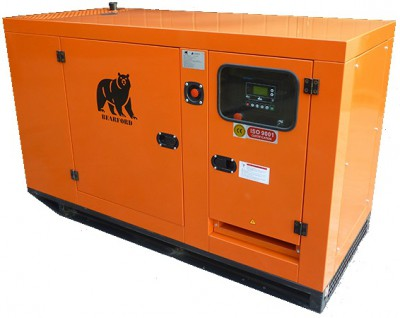 Дизельный генератор Азимут АД 16-Т400 в кожухе с АВР