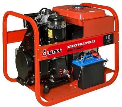 Дизельный генератор Вепрь АДП 7,0/4,0-T400/230  ВЛ-С