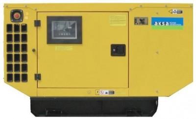 Дизельный генератор Aksa AJD 170 в кожухе