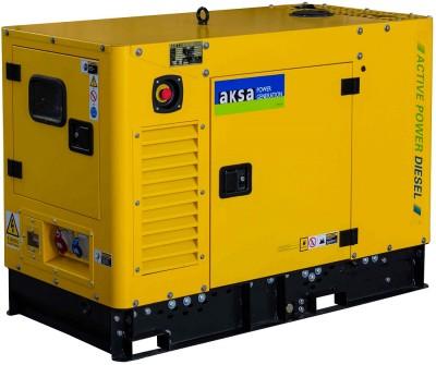 Дизельный генератор Aksa APD12A в кожухе с АВР