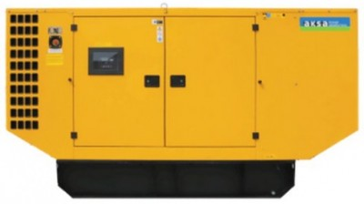 Дизельный генератор Aksa AP 110 в кожухе с АВР