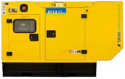 Дизельный генератор Aksa AP 15 в кожухе с АВР