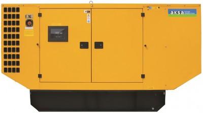 Дизельный генератор Aksa AP 220 в кожухе с АВР