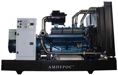 Дизельный генератор АМПЕРОС АД 200-Т400