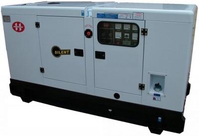 Газовый генератор АМПЕРОС АГ 120-Т400 в кожухе с АВР