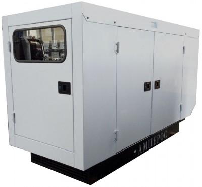 Дизельный генератор АМПЕРОС АД 25-Т400 P (Проф) в кожухе
