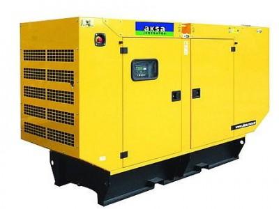 Дизельный генератор Aksa APD-43C в кожухе