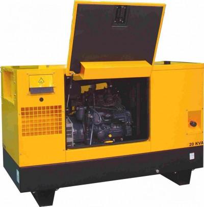 Дизельный генератор Gesan DPAS 25 E MF с АВР