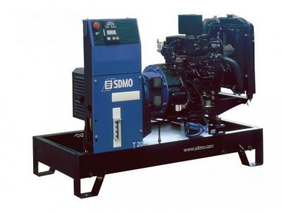 Дизельный генератор SDMO K 12 с АВР