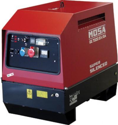 Бензиновый генератор Mosa GE 7000 HSX-EAS
