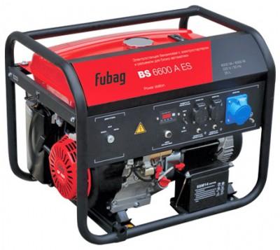 Бензиновый генератор Fubag BS 6600 А ES с АВР