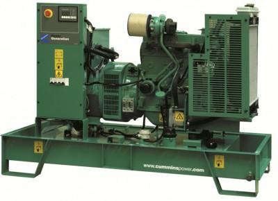 Дизельный генератор Cummins C66D5 с АВР
