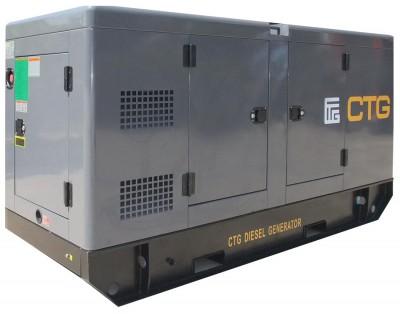 Дизельный генератор CTG AD-660WU в кожухе с АВР