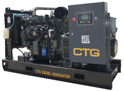 Дизельный генератор CTG AD-200SD