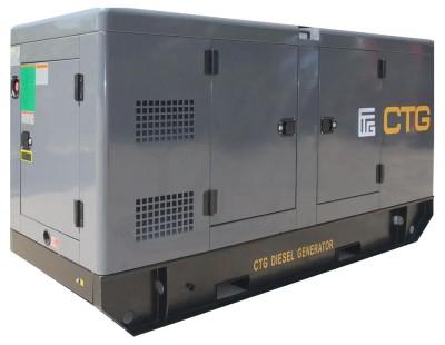 Дизельный генератор CTG AD-200SD в кожухе