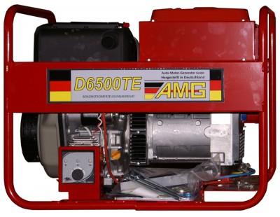 Дизельный генератор AMG D 6500TE с АВР