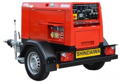 Дизельный генератор Shindaiwa DGW400DMK-S1