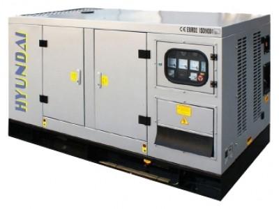 Дизельный генератор Hyundai DHY12KSE