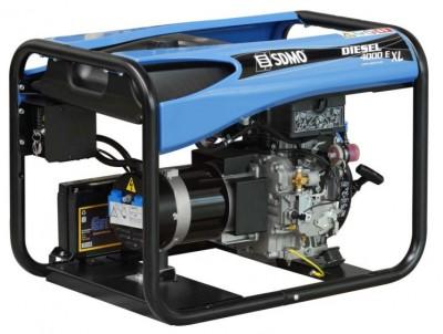Дизельный генератор SDMO DIESEL 6000 E XL C M с АВР