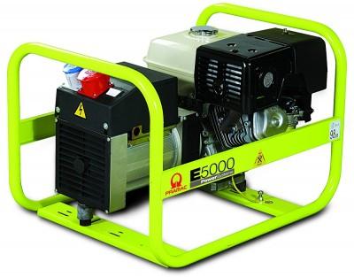 Бензиновый генератор Pramac E5000 3 фазы