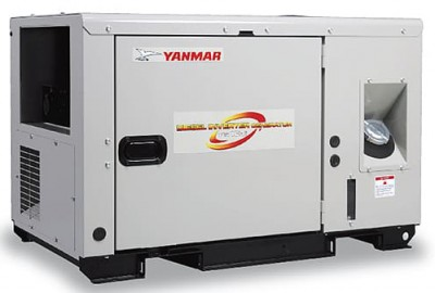 Дизельный генератор Yanmar EG 100i-5B