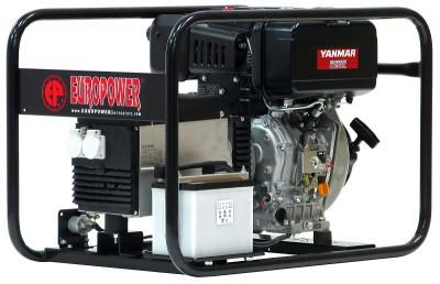 Дизельный генератор EuroPower EP 6000 TDE с АВР