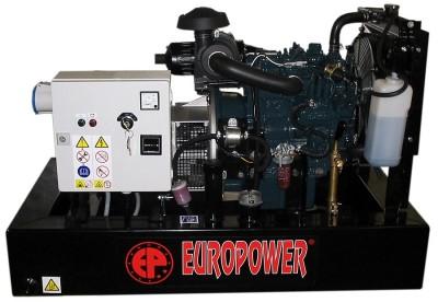 Дизельный генератор EuroPower EP 8 DE