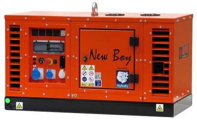Дизельный генератор EuroPower EPS 103 DE/58