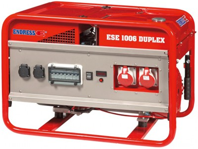Бензиновый генератор Endress ESE 1006 SG-GT ES Duplex