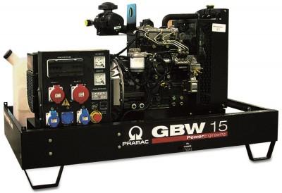 Дизельный генератор Pramac GBW 15 P 1 фаза