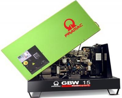 Дизельный генератор Pramac GBW 15 P 1 фаза в кожухе