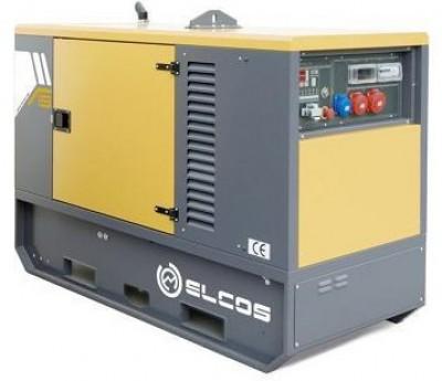 Дизельный генератор Elcos GE.YA.011/010.SS