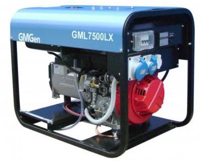 Дизельный генератор GMGen GML7500LX