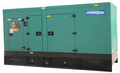 Дизельный генератор Power Link GMS180PXS в кожухе