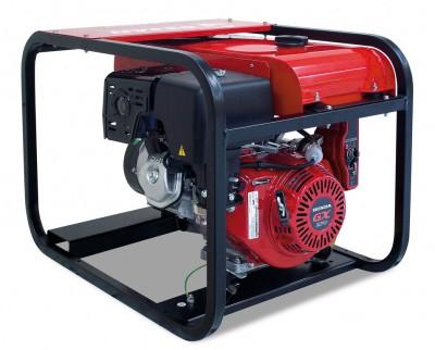 Бензиновый генератор Gesan GR 8 TF H Электростартер