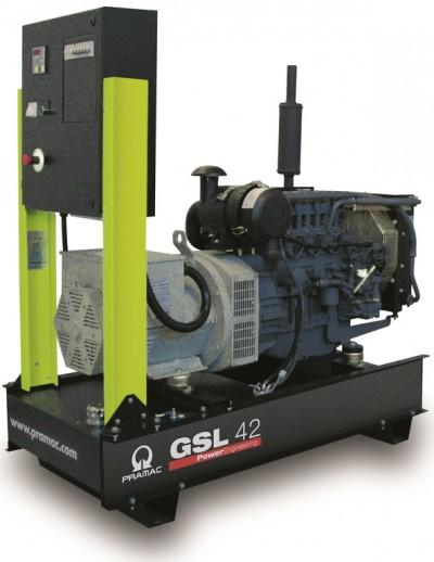 Дизельный генератор Pramac GSL 42 D