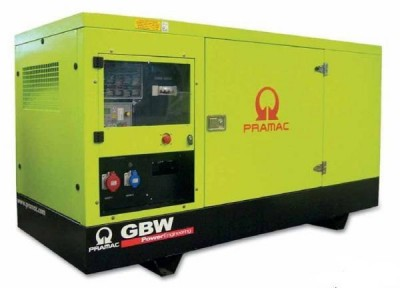 Дизельный генератор Pramac GSW165 P в кожухе с АВР