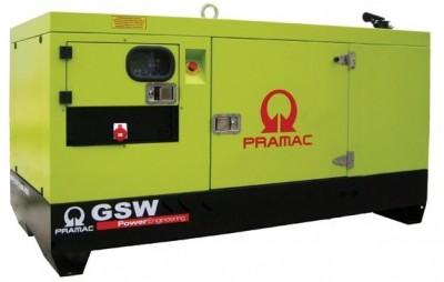 Дизельный генератор Pramac GSW 15 P в кожухе