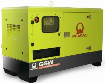 Дизельный генератор Pramac GSW 10 P 3 фазы