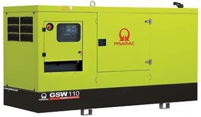 Дизельный генератор Pramac GSW 110 I в кожухе